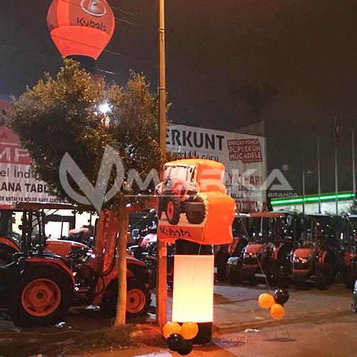 Kubota Traktör Reklam Balonu