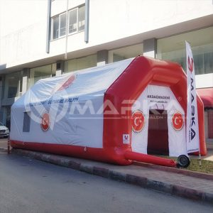 şişme etkinlik çadırı