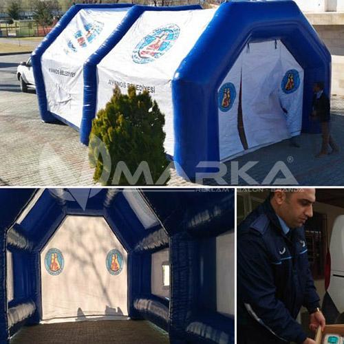 avanos belediyesi şişme taziye çadırı