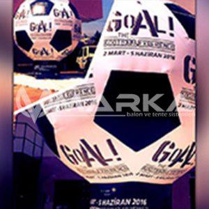reklam balonu futbol topu