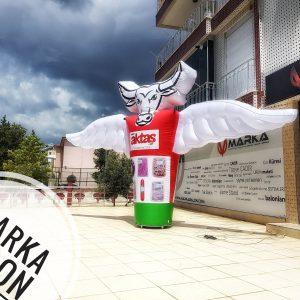 Şişme Reklam Balonu Aktaş Market