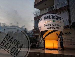 reklam balonu modeli