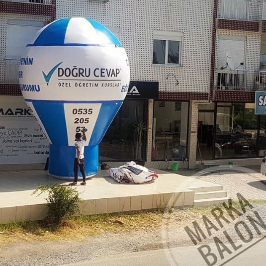 doğru cevap reklam balonu