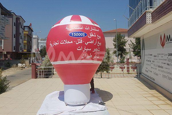 karadeniz emlak reklam balonu