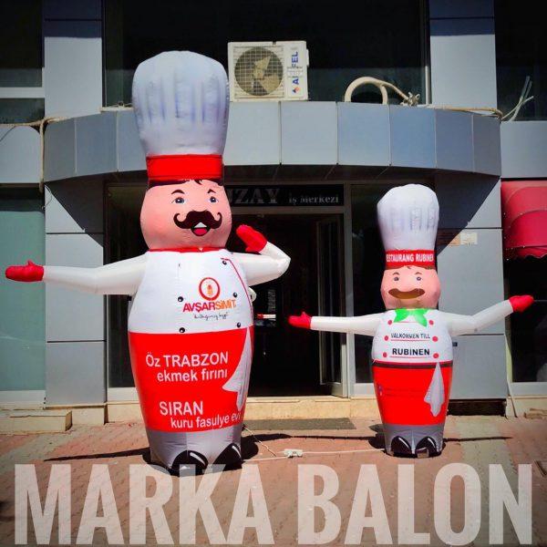 gel gel balon aşçı