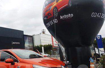 Reklam balonu Renault