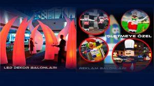 reklam balonları modelleri ve tanıtım