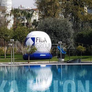 Reklam balonu ve küre balon