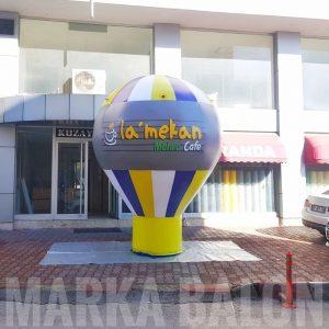 La Mekan Kafe Reklam Balonu