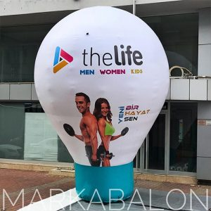 reklam balonu 5mt.