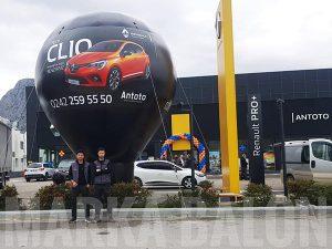 renault clio reklam balonu