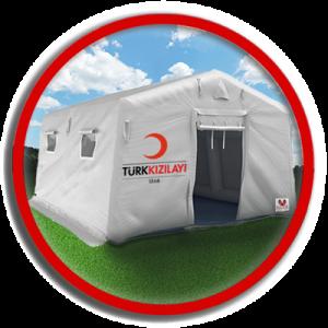 ilk yardım çadırları