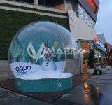 şişme kar küresi aqua florya