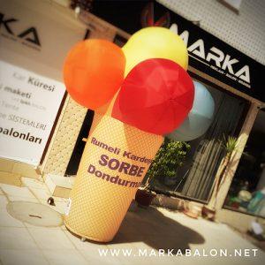 Starbalon Şişme Ürün Maketi Balonlar | Marka Balonları