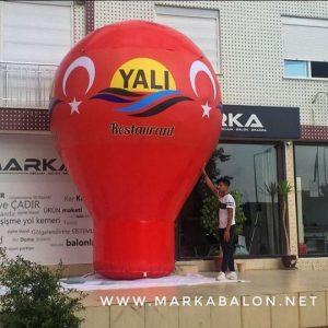 Işıklı Reklam Balonları | Yer Balonu