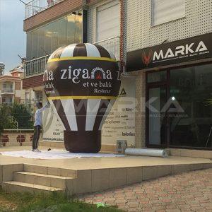 zigana restoran reklam balonu